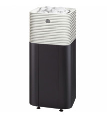Sauna komfur Tulikivi Huurre integreret, hvid, 10,5 kW