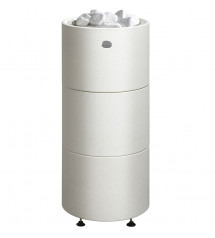 Pirts krāsns Tulikivi Kuura 1, balta, 10,5 kW