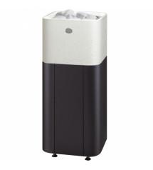 Sauna stove Tulikivi Kuura 2 integrated, white, 10.5 kW