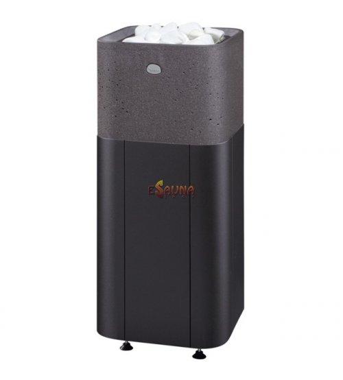 Sauna stove Tulikivi Kuura 2 integrated, black