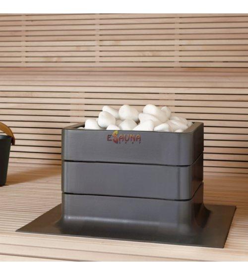 Sauna stove Tulikivi Nuoska integrated, graphite