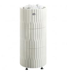 Estufa de sauna Tulikivi Riite, blanca, 10,5 kW