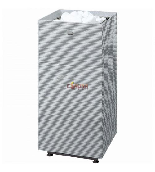 Elektrisk saunavarmer Tulikivi Tuisku Rigata med kontrolpanel
