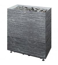 Stufa elettrica per sauna Tulikivi Tuisku XL Grafia senza pannello di controllo