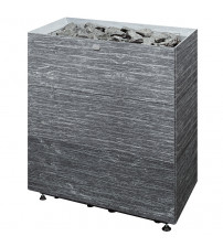 Elektrisk saunavarmer Tulikivi Tuisku XL Grafia uden kontrolpanel