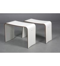 Tylö steam bench white I66