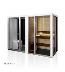 Saunová kabina Tylöhelo Impression Twin, bílá