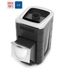 Malkinė pirties krosnelė - TMF Compact 2017 Inox Anthracite
