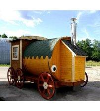 Sauna hus Tom