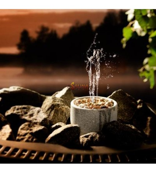 """Stone bowl to odors  """"Saunatroikka"""""""