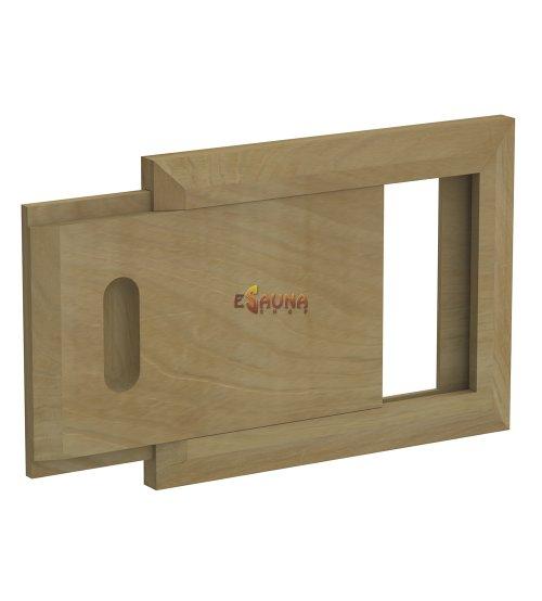 Wooden ventilation grid, cedar
