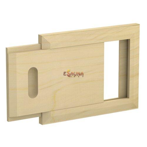 Wooden ventilation grid, pine
