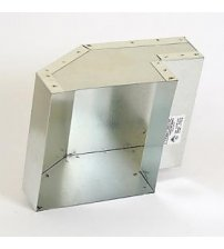 Ventilationsudløbet, 150x130 mm