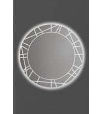 Zrkadlo ANDRES SPIDER s LED osvetlením