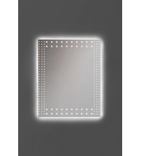 """Lustro """"ANDRES ROCK"""" z oświetleniem LED"""