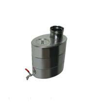 Ovale Wasser-Heiztank NP d.115mm