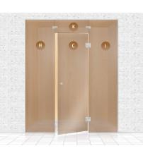 Mur de verre de sauna, AD TYPE 1