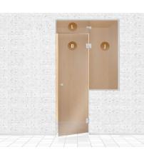 Стъклена стена за сауна, AD TYPE 10