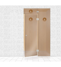 Mur de verre pour sauna, AD TYPE 11