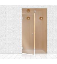 Стъклена стена за сауна, AD TYPE 12