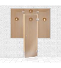 Стъклена стена за сауна, AD TYPE 2