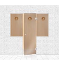Mur de verre pour sauna, AD TYPE 3