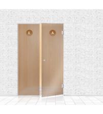 Mur de verre pour sauna, AD TYPE 6