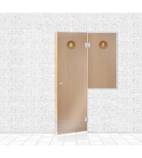 Стеклянная витрина для сауны, AD TYPE 7