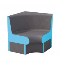 Ъглова седалка за парна сауна WEDI 850 мм