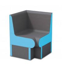 Ъглова седалка за парна сауна WEDI 650 мм