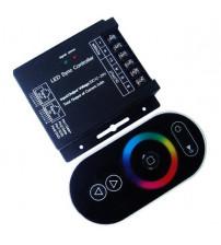 RGB bezdrôtový LED radič RF