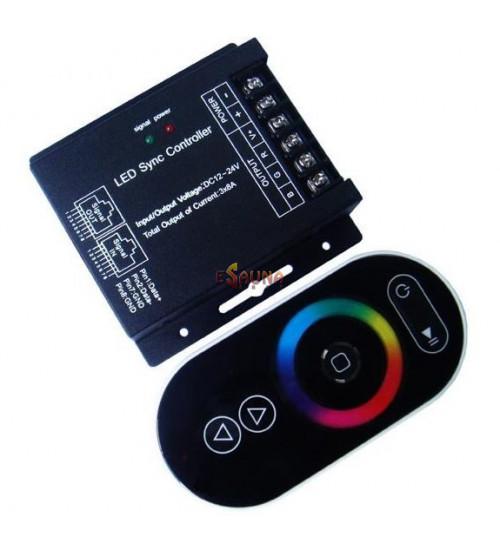 RGB wireless LED controller RF