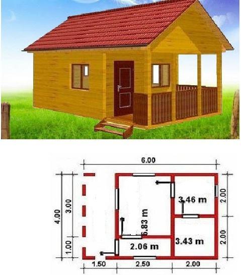 Construct frame bathhouse